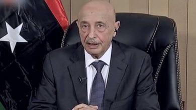 صورة رئيس مجلس النواب الليبي: لن يكون هناك حل للأزمة الليبية إلا بعد تحرير العاصمة طرابلس