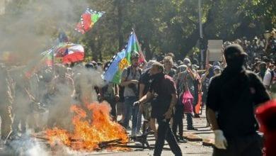 صورة الاحتجاجات متواصلة في التشيلي رغم التعديل الحكومي
