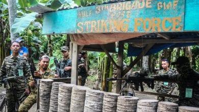 صورة مقتل سبعة من عناصر جبهة مورو الاسلامية للتحرير في الفلبين