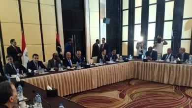 صورة خلال اجتماع في القاهرة: مجلس النواب الليبي يضع خارطة طريق لتسوية الأزمة التي تضرب البلاد