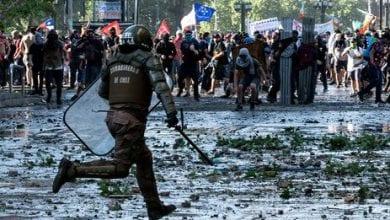 Photo de Chili : Les manifestations et heurts malgré le remaniement gouvernemental