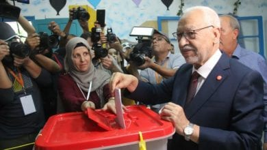 Photo of Exit polls show Ennahdha party leading Tunisia election