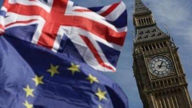Photo de Le Parlement britannique se réunit pour se prononcer sur l'accord de Brexit