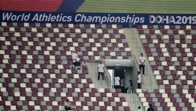 صورة مبارايات بدون جمهور في قطر