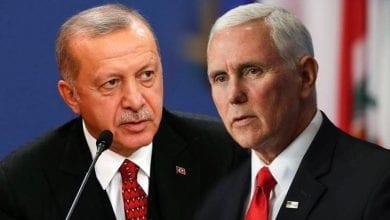 صورة أردوغان يتخلى عن موقفه وسيلتقي مع مايك بنس ومايك بومبيو