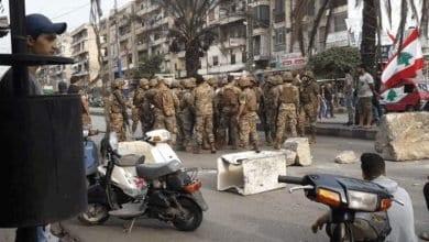 Photo de Liban: Des affrontements avec l'armée ont fait plusieurs blessées