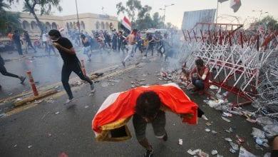 صورة واشنطن تدعو لانهاء العنف ضد المتظاهرين في العراق واجراء انتخابات مبكرة