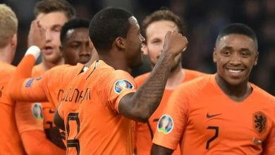 صورة هولندا في الصدارة أمام غريمتها ألمانيا خلال تصفيات كأس أوروبا 2020