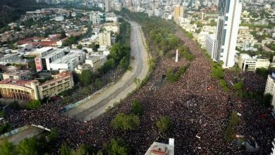 Photo of Over a million protesters demand Chile president's resignation
