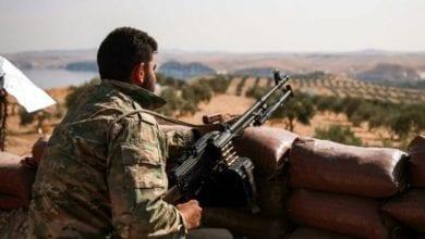 Photo de Affrontements entre combattants kurdes et armée turque
