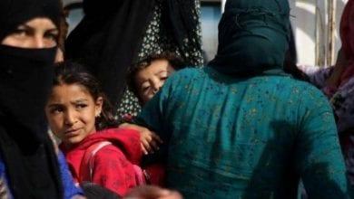 Photo de 160 000 déplacés par l'agression turque contre la Syrie