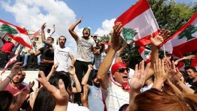 """صورة الاحتجاجات اللبنانية متواصلة ودعوات لمظاهرة حاشدة بعنوان """"أحد الإصرار"""""""