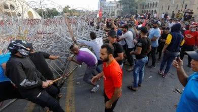 صورة مقتل ستة أشخاص بعد تجدد الاحتجاجات في العراق