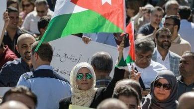 Photo de Les Jordaniens participent à la grève des enseignants