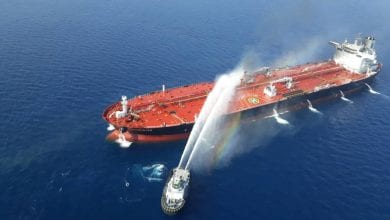 Photo of Explosions rock Iranian tanker near Saudi port city of Jeddah, oil reportedly spilling into Red Sea