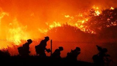 Photo of Authorities order 100,000 evacuated in California wildfire