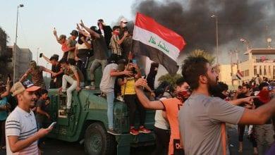 Photo de Irak:  le déploiement des forces d'élite de lutte contre le terrorisme dans les rues