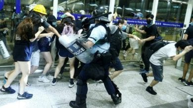 Photo of All Hong Kong rail services suspended as protests erupt