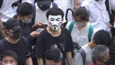 Photo of Hong Kong: Anger as face masks banned after months of protests