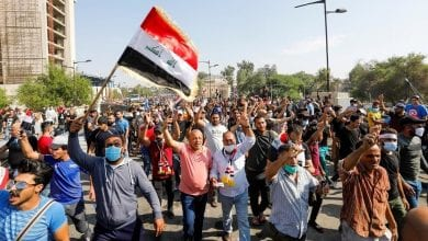 Photo of Deadly protests flare again in Iraq after day of bloodshed
