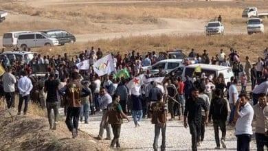 Photo de Les Kurdes manifestent contre les menaces d'Erdogan