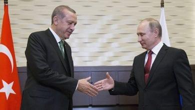 Photo de Erdogan: Aucun  différend avec  Poutine sur l'agression contre la Syrie
