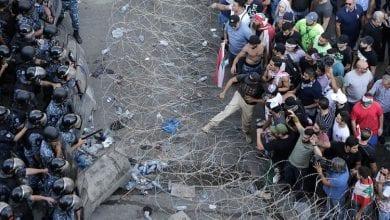 Photo of Lebanon: Hundreds gather for fresh protests