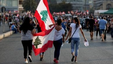 Photo of Lebanon enters sixth day of protests as army opens roads