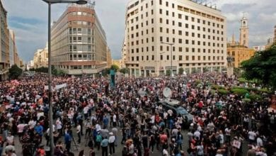 Photo of Protests Sweep Lebanon as Fury at Ruling Elite, Graft Grows