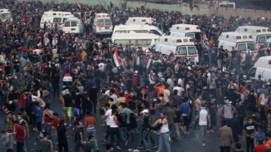 Photo de Les manifestations se poursuivent en Irak, les autorités craignent des débordements