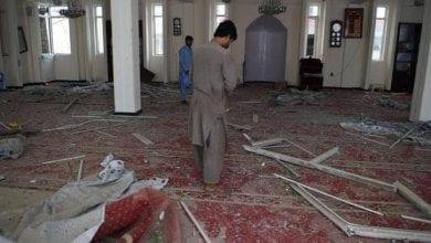 Photo de Afghanistan: Un attentat dans une mosquée fait  au moins 62 personnes