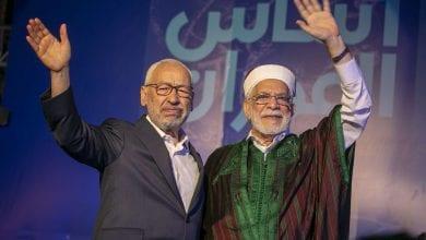 صورة عزلة سياسية تحيط بحركة النهضة بعد الانتخابات البرلمانية