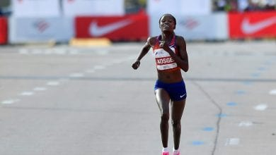 Photo of Kosgei joins Kipchoge as IAAF athlete of the year nominee