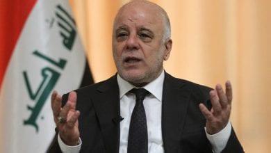 صورة رئيس الوزراء العراقي السابق يدعو إيران لإعادة النظر بسياساتها في العراق