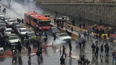 صورة منظمة العفو الدولية: مقتل 100 متظاهر في إيران منذ أن أمرت السلطات قوات الأمن بقمع التظاهرات