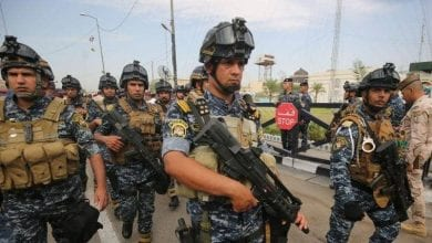 """صورة إنهاء حالة """"الإنذار القصوى"""" في العراق وعودة الدوام الاعتيادي لموظفي وزارة الداخلية"""