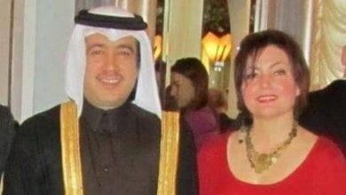 صورة فضيحة مدوية لسفير قطر في لندن كشفت عنها الصحف البريطانية