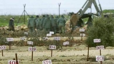صورة الاحتلال الإسرائيلي يمنع تسليم جثامين الشهداء الفلسطينيين