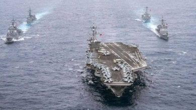 صورة الصينتدعو الجيش الأميركيإلى الكف عن استعراض عضلاته فيبحر الصين الجنوبي
