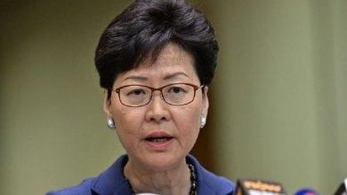 صورة زعيمة هونغ كونغ: الحكومة لا تزال تعمل ما في وسعها لعقد انتخابات محلية