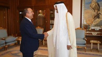 صورة راعية الإرهاب تشكر قطر على دعمها وتموليها العدوان على سوريا