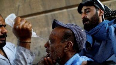 صورة مقتل متظاهر في بغداد خلال أوسع احتجاجات تشهدها العراق منذ سنوات