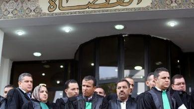 صورة القضاة ينهون اضرابهم في الجزائر