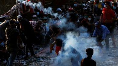 صورة بعد ليلة صاخبة في العراق… ساحة التحرير ستشهد تشييع أول متظاهرة خلال الاحتجاجات
