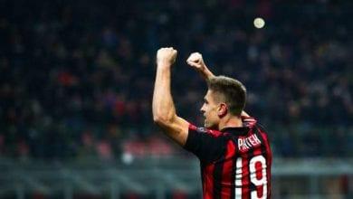 Photo de l'AC Milan bat  Spal (1-0), Rossonerri dans la première moitié du tableau