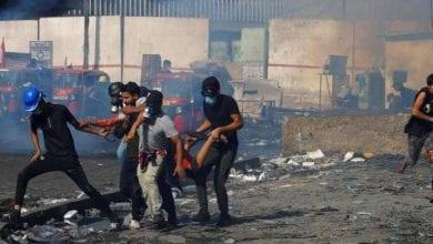 Photo de Bagdad: Deux manifestants ont été tués lors d'affrontements