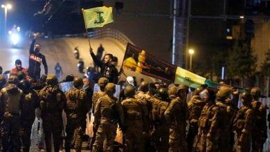 Photo de Beyrouth: Des heurts ont éclaté entre des partisans du Hezbollah et des manifestants