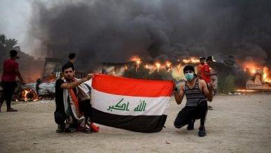 Photo of Riot police withdraw in southern Iraq province after clashes
