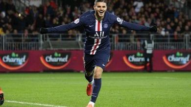 Photo de Ligue 1: Le Paris Saint-Germain bat Brest (2-1)