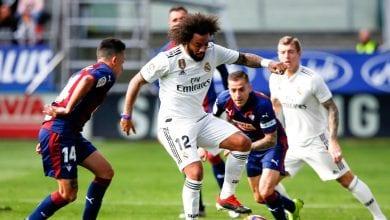 Photo de Le Real Madrid s'est imposé à Eibar (0-4) en championnat d'Espagne